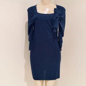 RED VALENTINO BLUE DRESS